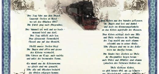 Der letzte Zug – Gedicht aus Estland