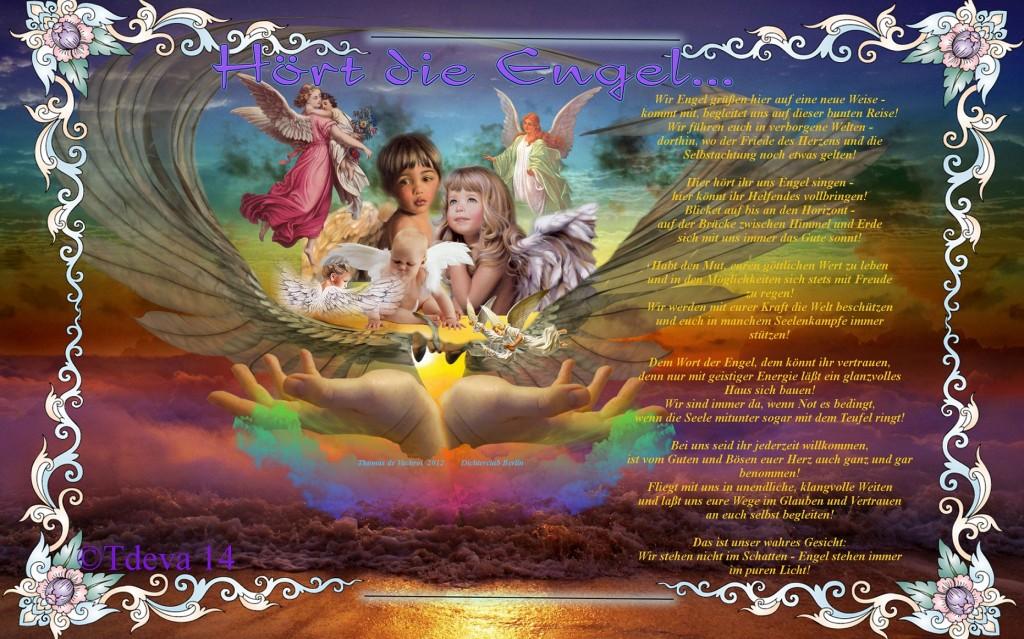 Hört die Engel...