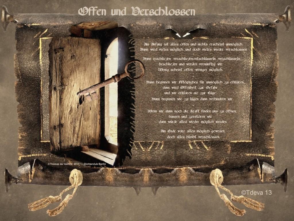 Offen und Verschlossen