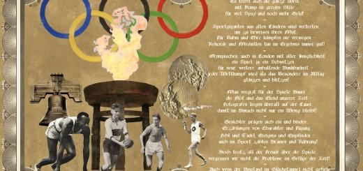 Olympisches Feuer – ein Gedanke!
