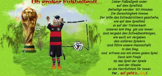 Lieber Fußballgott unser ©Tdeva 14
