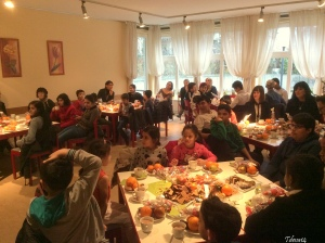 Kinder 11 Nationen im Diakonie Haus Britz