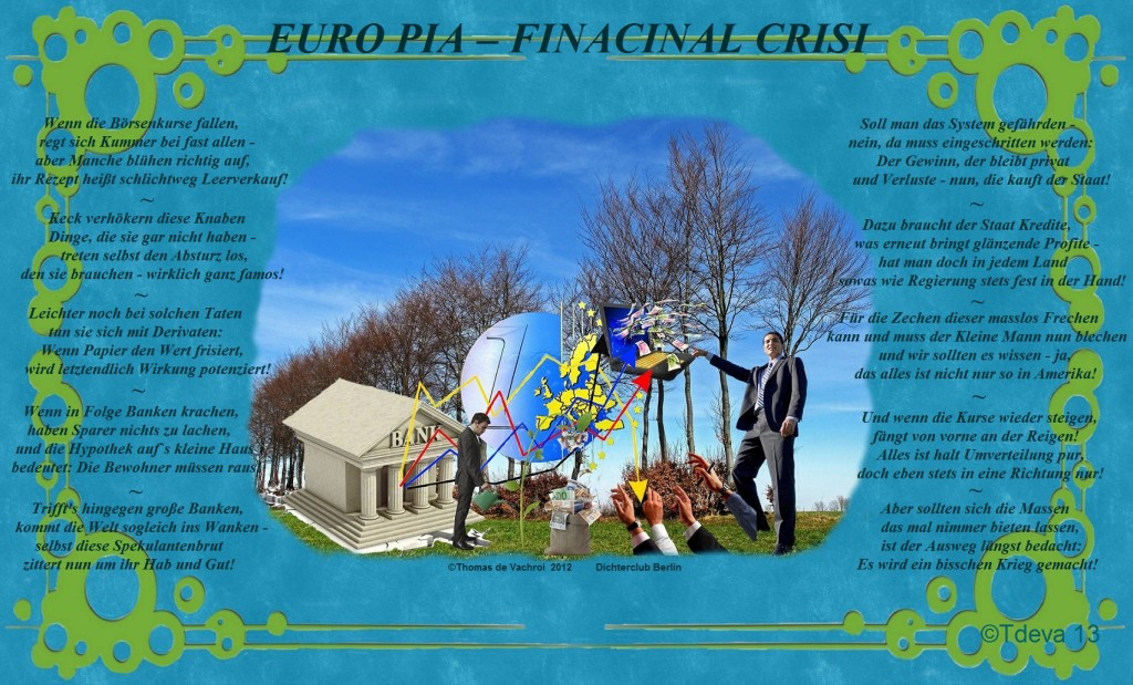 EURO PIA FINACINAL CRISI
