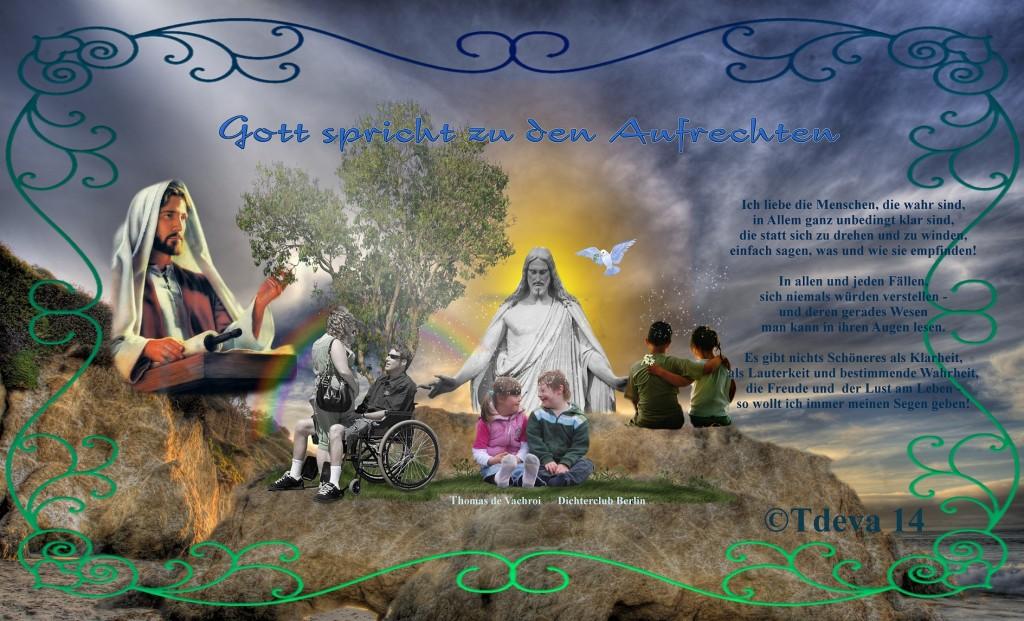 Gott spricht zu den Aufrechten