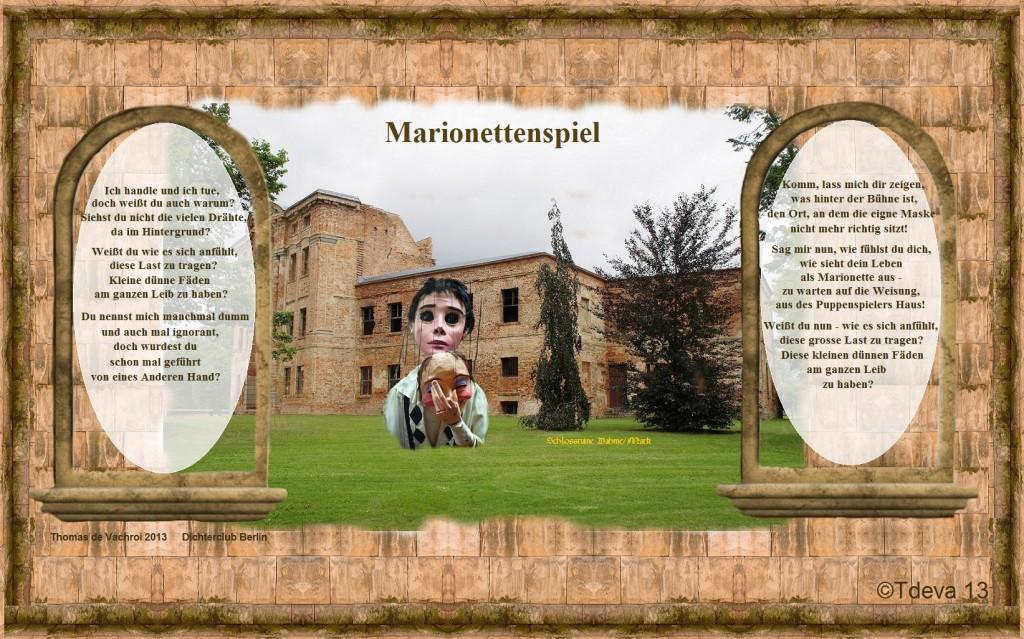 Marionettenspiel