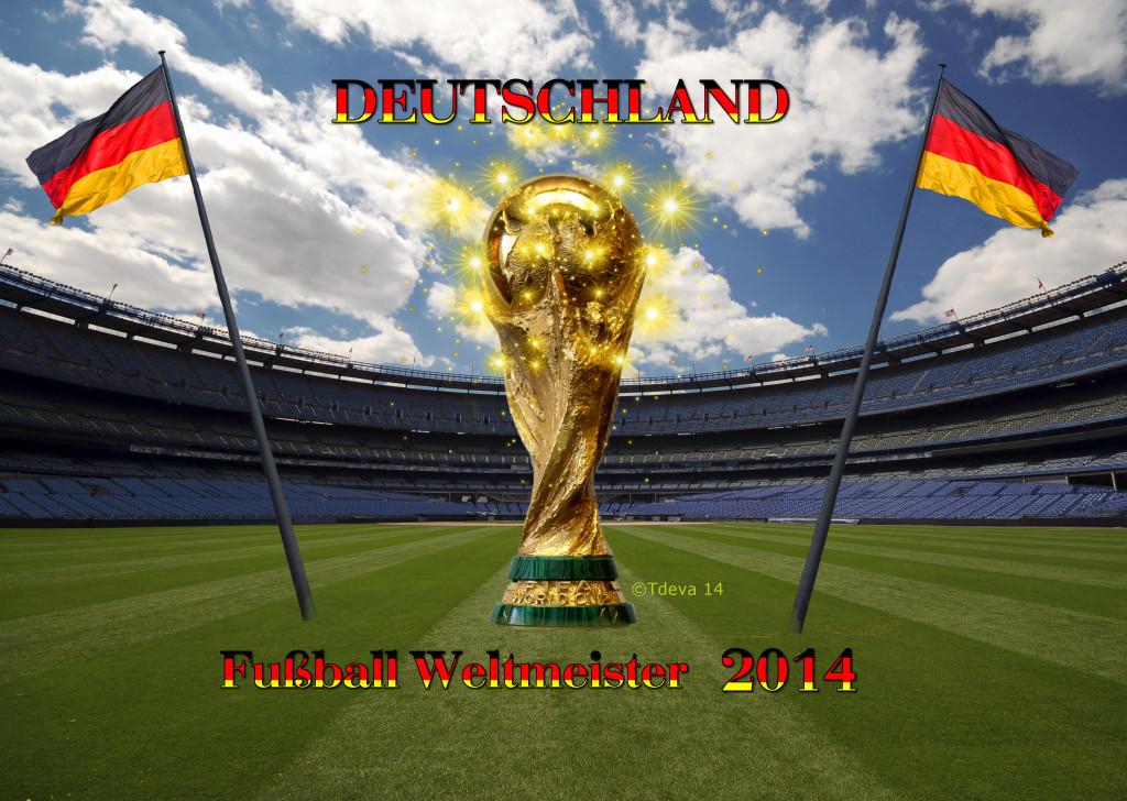 Deutschland Fußball Weltmeister 2014©Tdeva 14