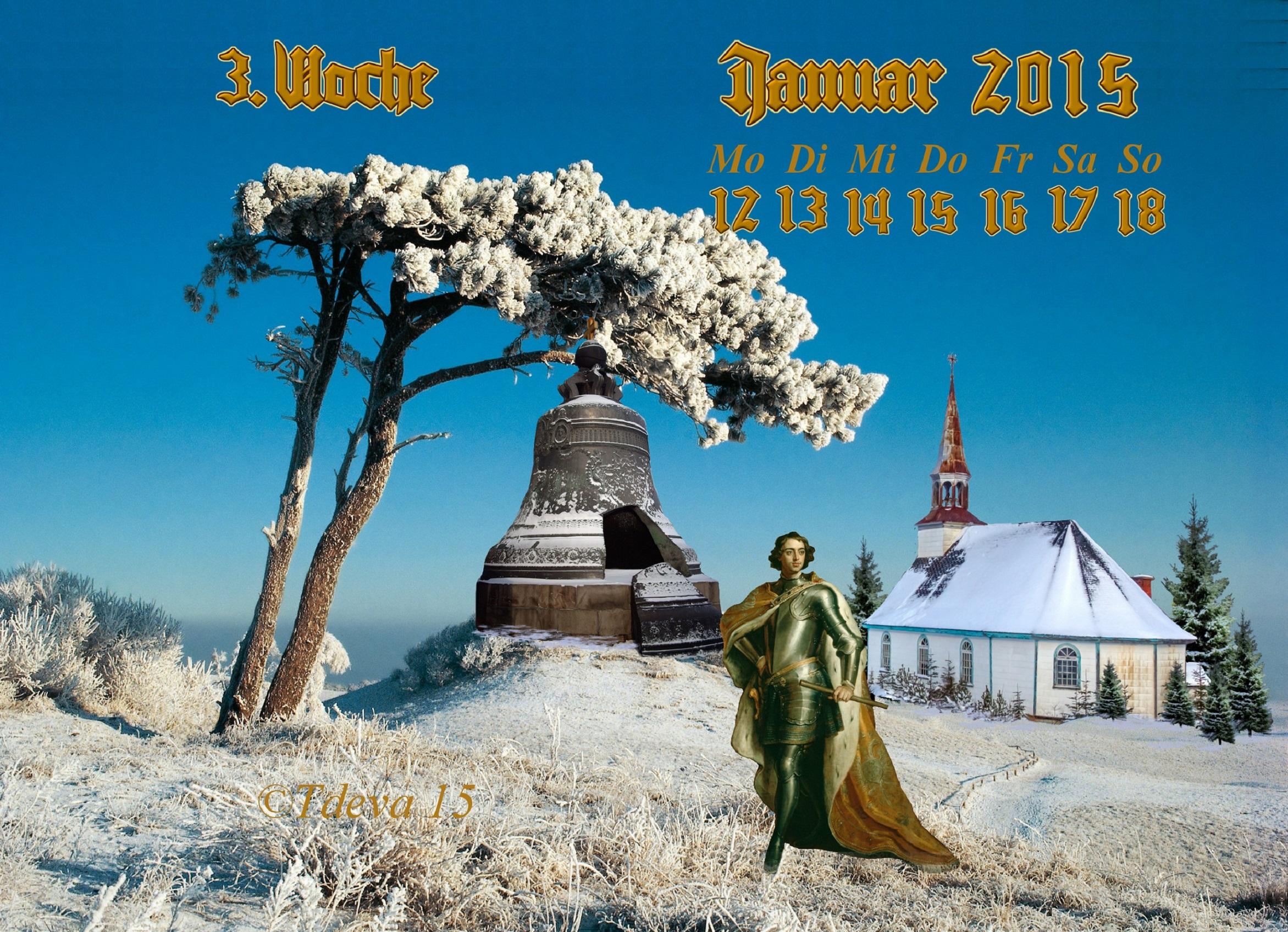 Vachroi's Jahreskalender 2015 – 3.KW