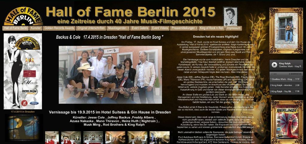 Hall of Fame Dresden 2015